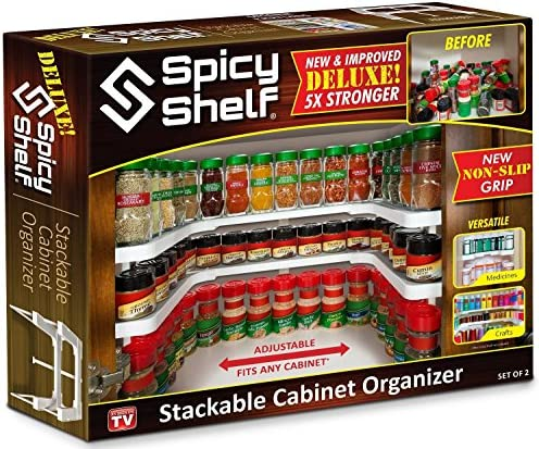 Spicy Shelf Deluxe As Seen product image