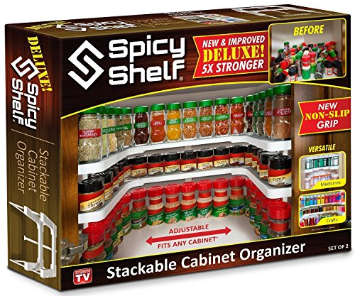 Spicy Shelf Deluxe - As Seen on TV (Spice Cabinet Organizer)