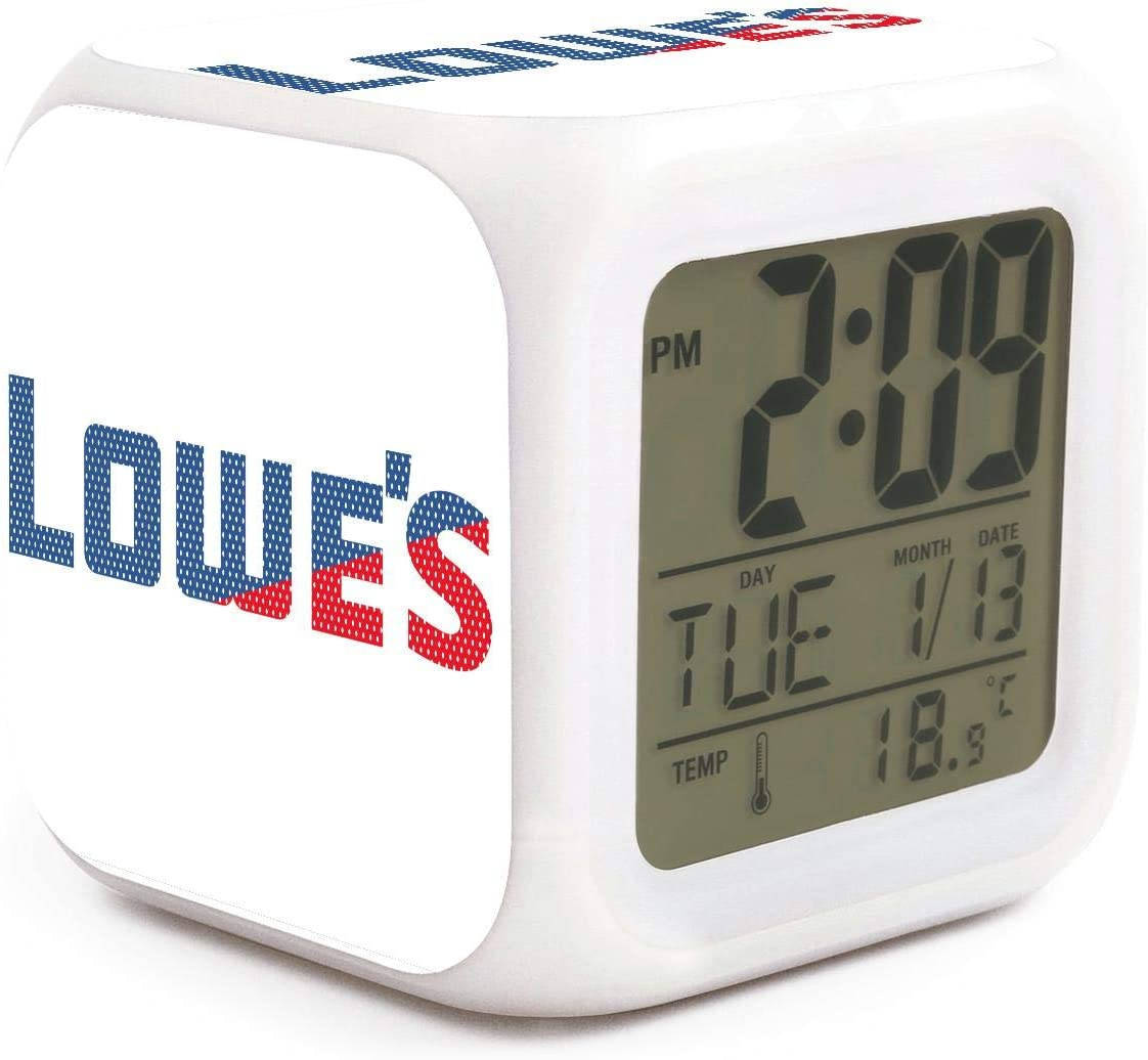 Amazon.com PZX40 Alarm Clock Night Light Lowe's Mesh Design ...