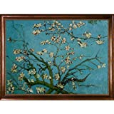 overstockArt Vincent Van Gogh Branches of an Almond Tree in Blossom 36-Inch by 48-Inch Framed Oil on Canvas