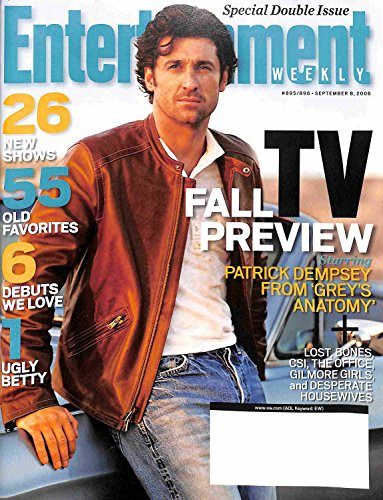 Entertainment Weekly September 8, 2006 - Patrick Dempsey, TV Fall Preview (#895/896)