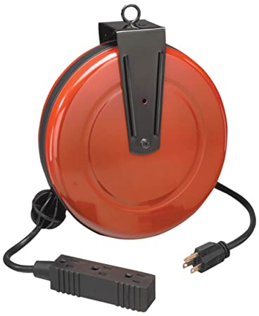Craftsman 34-83928 30 Foot Retractable Extension Cord and Reel