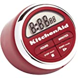 KitchenAid Digital Kitchen Timer, Red