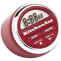 KitchenAid Classic Digital Timer, Red