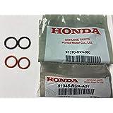 NEW GENUINE HONDA POWER STEERING HIGH /& LOW PRESSURE HOSE LINE ORING KIT