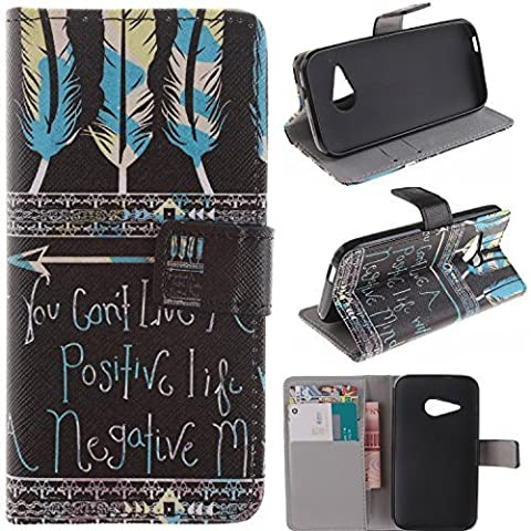 M8 mini Case HTC One Remix wallet Flip Case, HTC One M8 Mini Kickstand Case,Tribe-Tiger Stylish Dandelion Witness Love Series Wallet PU Leather Flip Cover Case,[Stand Built-In Card Slots Feature] Flip Folio Case Cover for for HTC One Remix(Black (M8 Cell Phone Case Wallet)