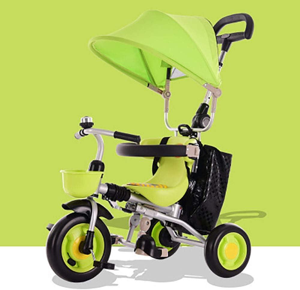 GAOJI Triciclo con Pedales para bebés con Triciclo Bebé PlegableTrike Bicicleta para Niños de 6 Meses a 5