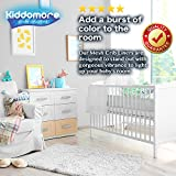 Modern Spaceship Gray Baby Mesh Crib Liner for All Cribs - Breathable Airflow Rail Cover and Bumper - Best for Protecting Your Baby From Getting Arms and Legs Stuck