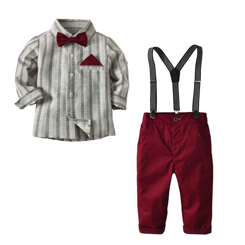 Amazon.com: 5 piezas de ropa para bebé, chico, lazo ...