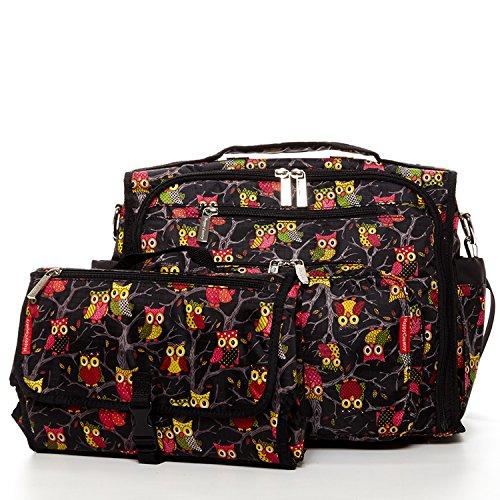 HC Convertible Diaper Bag Backpack For Girls Multifunctional