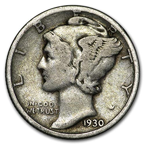 (1930 S Mercury Dime Good/VG Dime Good)