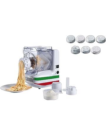 Máquina de Pasta eléctrica 10 insertos Spätzle Prensa para espaguetis de hielo de prensa (rodillo