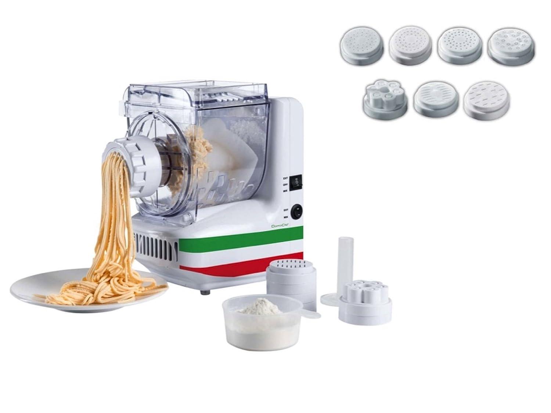 Elettrica macchina per la pasta 10 Inserti Spä tzle Stampa Spaghetti Di Ghiaccio Della Stampa (Stampa Pasta, Pasta Maker, noodle maker, Frullatore, Impastatrice) DomoClip