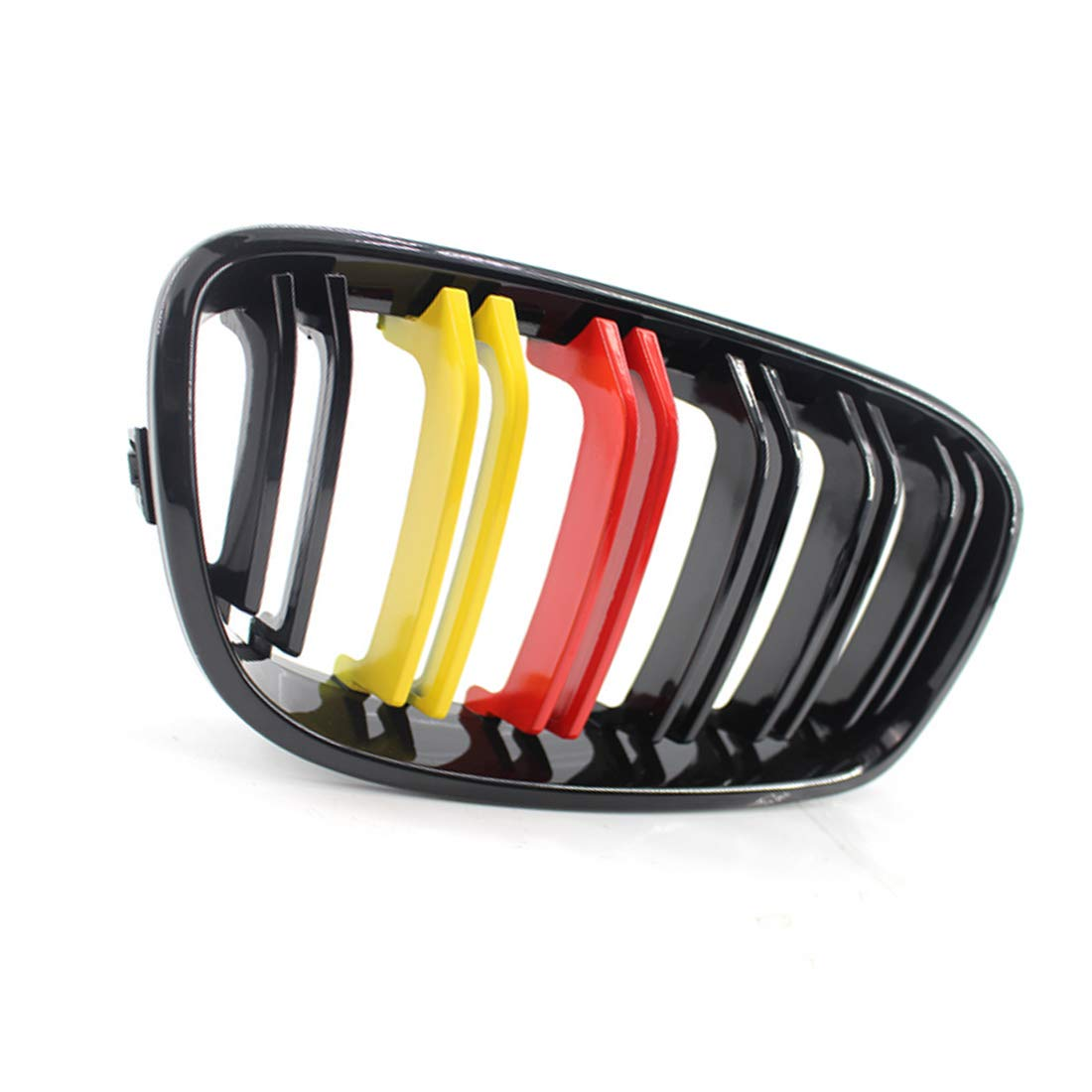 Grille Kidney Grille Front Grille Decoration Grilles Grills For 1 Series F20 11-14 M version double line red and yellow