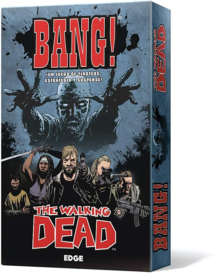 Edge Entertainment-Bang The Walking Dead-Español, Color (EEDVBW01 ...
