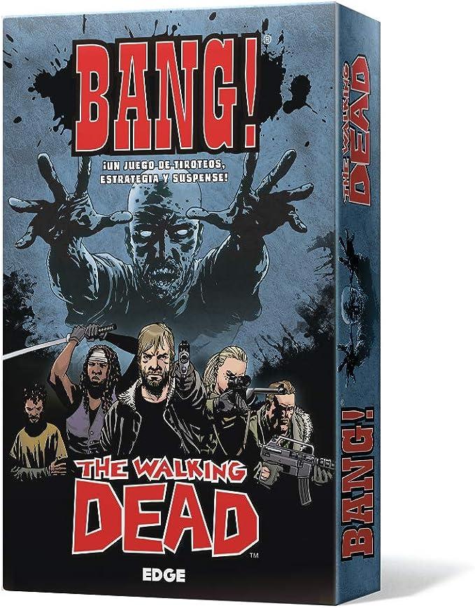 Edge Entertainment-Bang The Walking Dead-Español, Color (EEDVBW01): Amazon.es: Juguetes y juegos