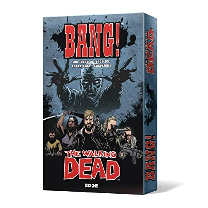 Amazon.com: Edge Entertainment Bang! The Walking Dead ...