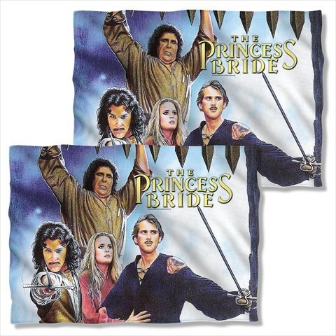 The Princess Bride Poster (FRONT BACK PRINT) Sublimation Pillow Case