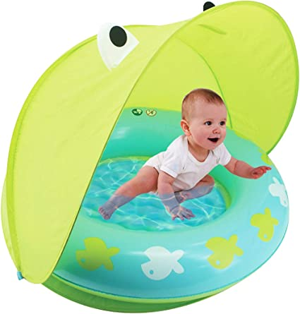 Amazon.com: Hoovy Froggy piscina de protección solar, equipo ...