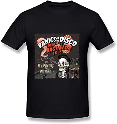 T SHIRT PANIC AT THE DISCO DEATH OF A BACHELOR TOUR CONCERT 2017