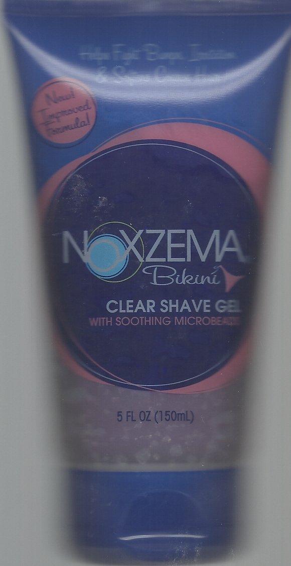 Noxzema Bikini Clear Shave Gel, 5 Oz. Tube No Model