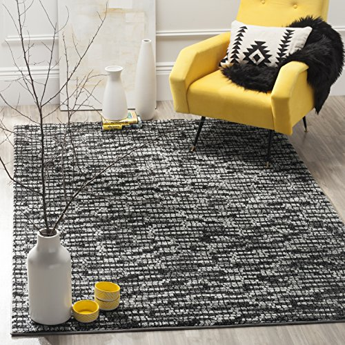 Safavieh Porcello Collection PRL6941D Light Grey and Charcoal Area Rug (6' x 9')