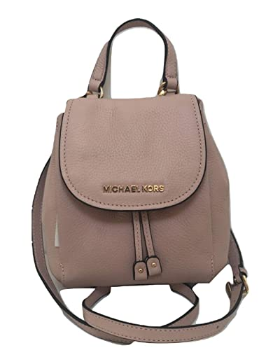 0cae21b048a0fa Amazon.com: MICHAEL Michael Kors Riley Mini Small Crossbody Drawstring  Backpack Bag - Pastel Pink: Shoes