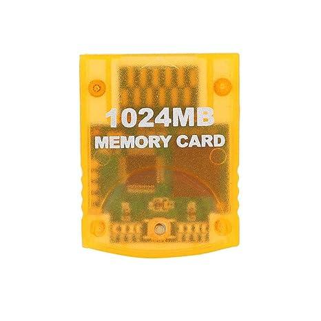 Kafuty Tarjeta de Memoria para Wii, Accesorio Portátil para ...