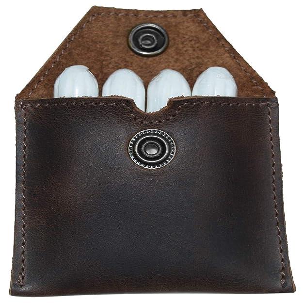 Amazon.com: Funda de piel rústica con soporte para ...