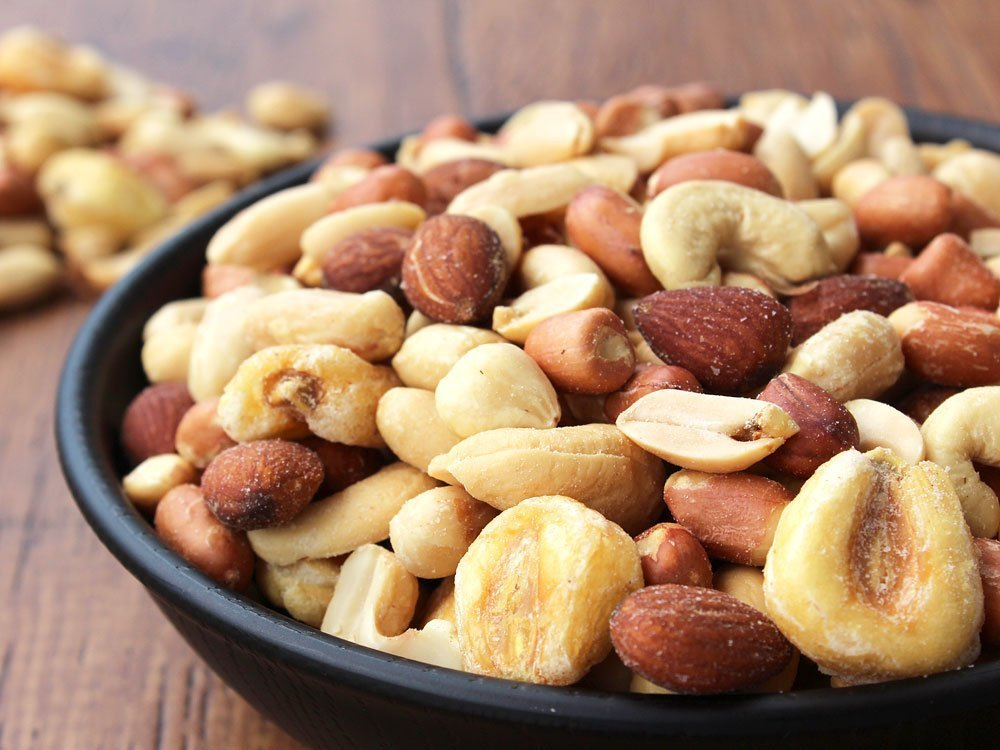 Mixed nuts QBB 500g peanut cashew nuts giant cone almond hazelnut business for appetizers __