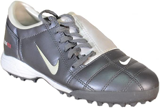 Nike Nike Total 90 Jr III TF Scarpini Calcetto Grigi Pelle