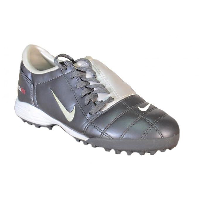 198dc15e07 Nike - Nike Total 90 Jr III TF Zapatos Fùtbol Sala Gris Cuero 308238 -  Gris