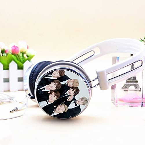 Bosunshine Kpop BTS Bangtan Boys Headphone Stereo Headset Earphone 04