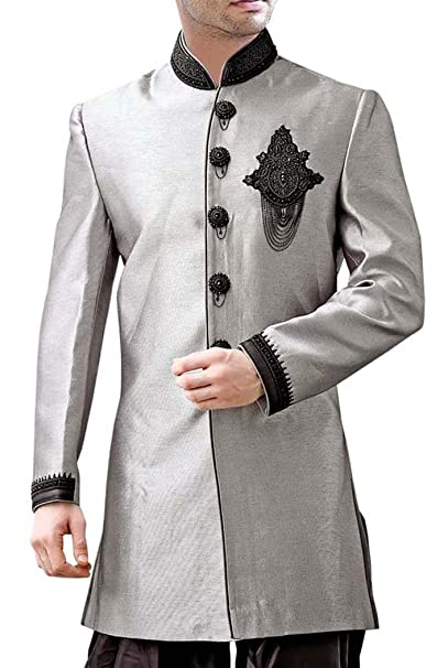 Amazon.com: INMONARCH IN417 Sherwani Kurta - Sherwani para ...