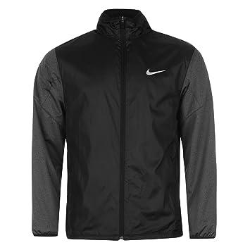 b2be94091844 Nike Golf Full-Zip Shield Jacket Men s Jacket Long Sleeves - Black - X-
