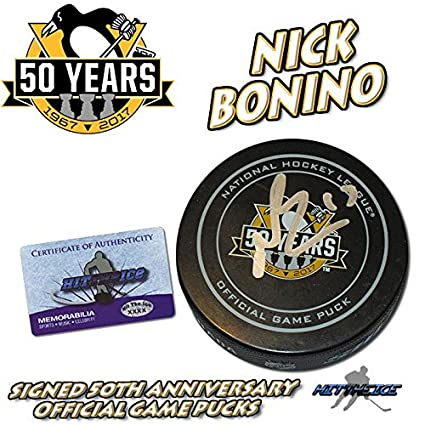 4c09fb555 Image Unavailable. Image not available for. Color  Nick Bonino Autographed  ...
