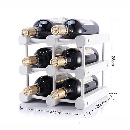 Fei Teng Estante para vinos - - Estante para vinos de Madera ...