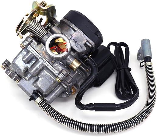 18mm Cvk Pd18j Carb Carburetor Gy6 50cc Scooter 139qmb 139qma For Keihin Automotive Amazon Com