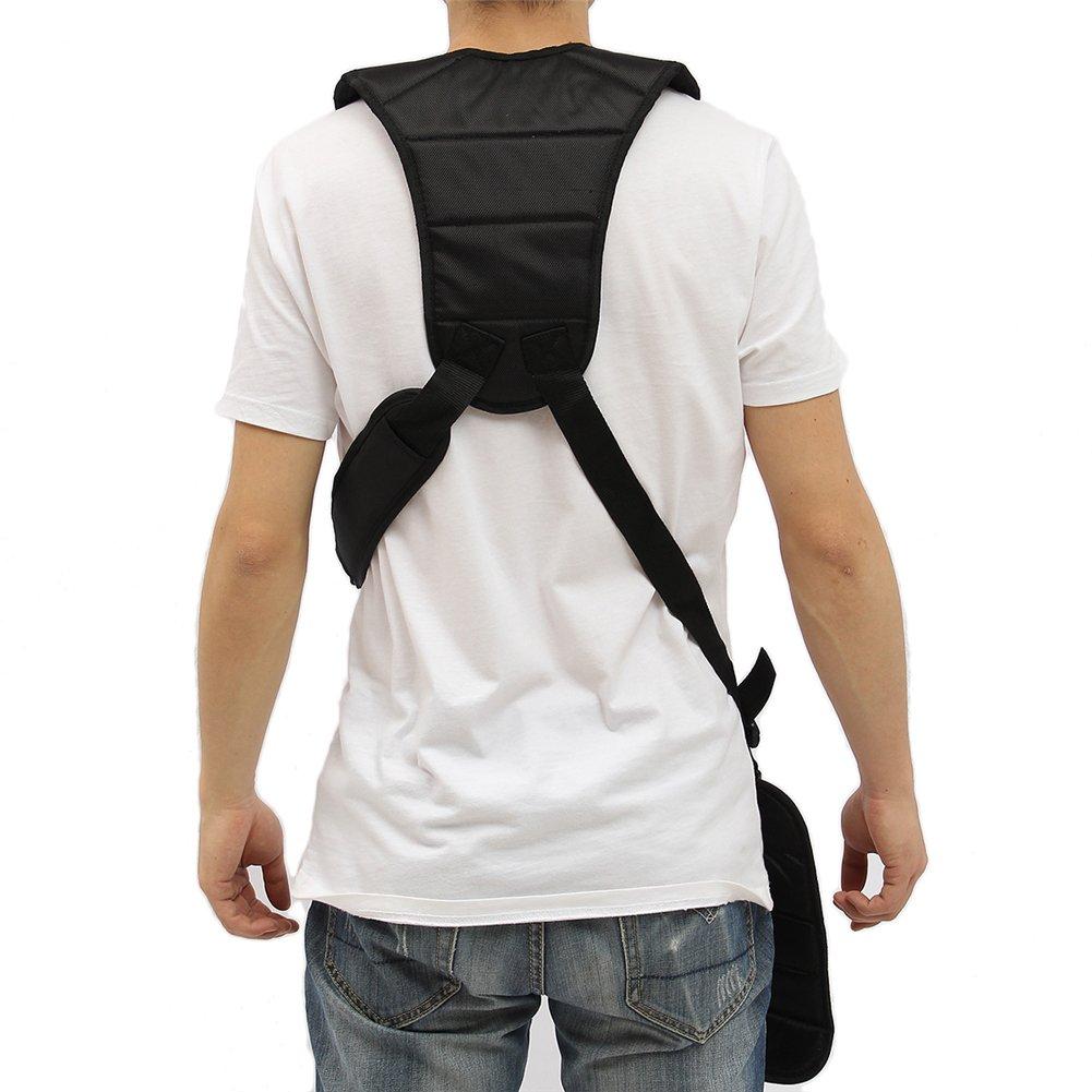 Grass Trimmer Double Shoulder Harness Strap Adjustable Black Nylon Harness Belt For Brush Cutter by Fovolat (Image #2)