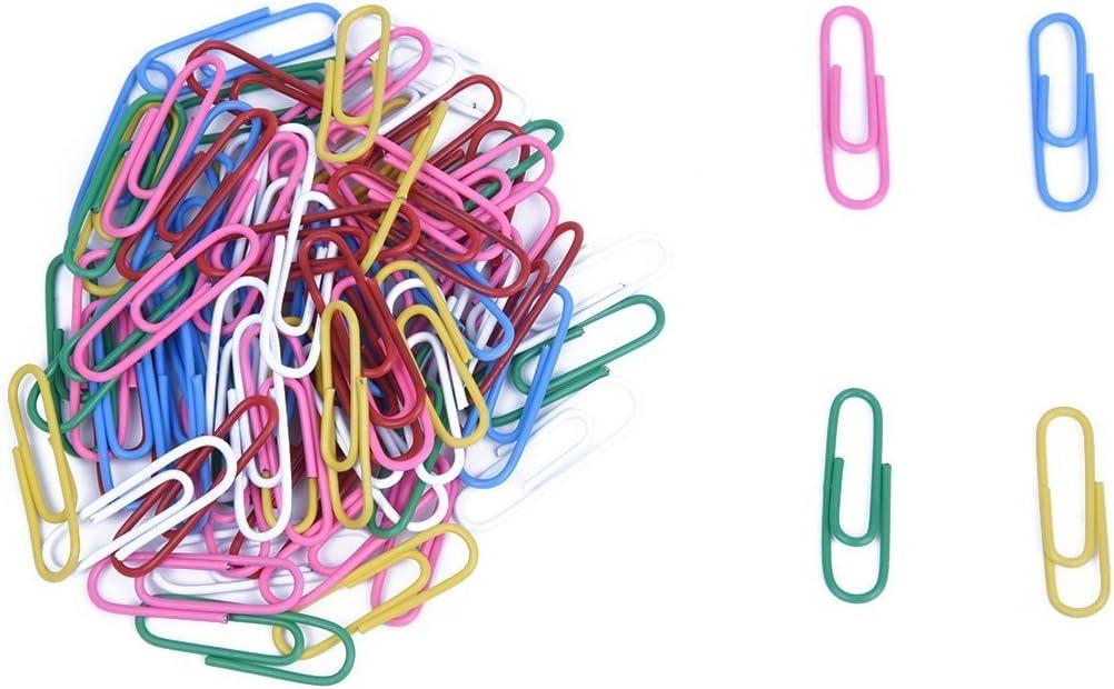 Colori Assortiti Clip Di Carta Plastificate