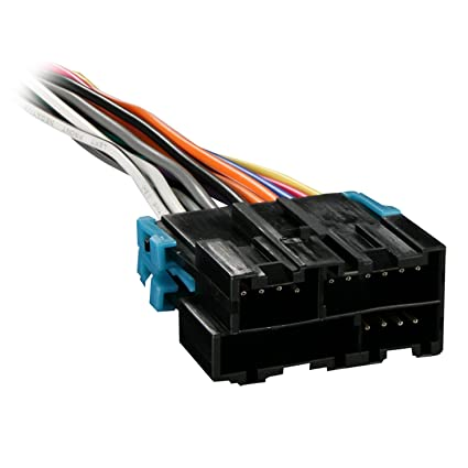 metra 70 1858 radio wiring harness for gm 88 05 harness  gm factory wiring harness wiring diagram