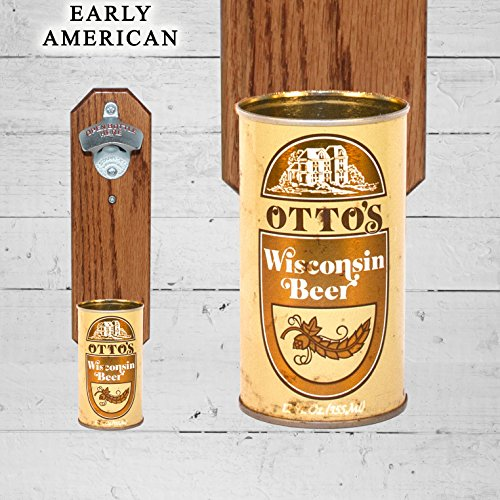 Father's Day Gift Wall Mounted Bottle Opener with Vintage Ot