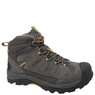 56ae277cb82 Coleman Mens Grey Suede Hiking Boots 10 M