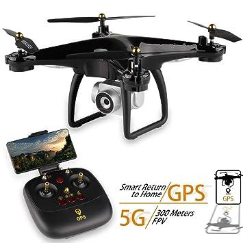ZMH GPS Drone JJRC H68G con cámara 1080P HD 5G WiFi FPV ...