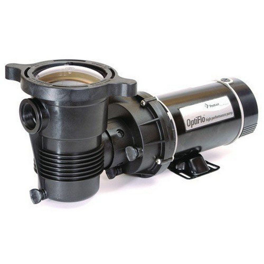 Pentair 347984 OptiFlo Vertical Discharge Aboveground Pool Pump with Cord and Standard Plug 3//4 HP