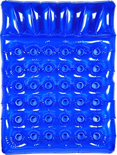 Greenco Giant Inflatable Double Mattress Pool Lounger Float 78 Inches- Blue Blue Pool Float