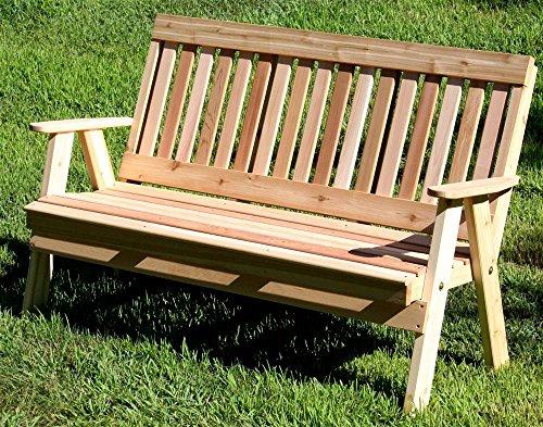 Cedar Countryside Garden Bench 4Ft