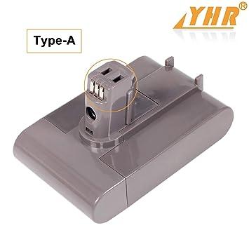 YHR 22,2 V 3000 mAh Tipo A Dyson DC35 Li-Ion batería de