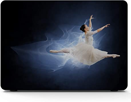 A Young Elegant Ballet Dancer Macbook Air/Pro 11/12/13/15 Inch Estuche Estuche rígido de plástico Shell Macbook Air 2018 Estuche Mac Pro Cover Laptop Macbook: Amazon.es: Electrónica