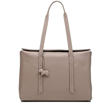 various styles outlet on sale affordable price Amazon.com: Radley London Belmont House Large Flapover Tote ...